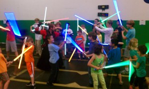 Light Saber Camp